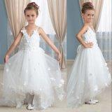 Изготовленные Handsewn Hi-Low детей одежды букет девушка платье