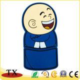 Design personalizado monge PVC maleável Unidade Flash USB