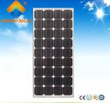 Panneau solaire de silicium monocristallin de la haute performance 145W pour le système solaire