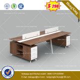 2 sièges forme de L'Office de station de travail du personnel de cluster de partition (HX-8NE042)