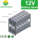 batterie solaire 6V 12V 300ah de cycle profond de la garantie 3years