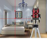 조사를 위한 교차하는 선 빨간 광속 8 선 Laser 수준