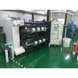 Etiqueta de papel recubierto de alta velocidad de rebobinado de corte longitudinal la máquina