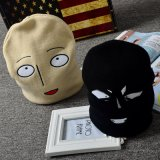 Смешные Beanies шлемов вышивки стороны шаржа связанные Cosplay