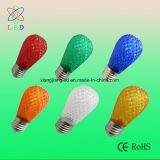 LEDの印の球根G50 E27の10mごとのLEDストリングE27 40球根、LED多色刷りG50ストリング装飾ランプ