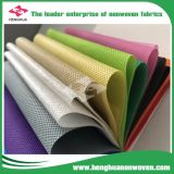Tecido de polipropileno não tecidos descartáveis Sponbond PP Técnica, Rolo de tecido não tecidos