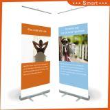 L'affichage promotionnel Digital Roll up Stand de la bannière horizontale