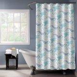 Impresa PEVA coloridos cortina de ducha con moho y moho gratis