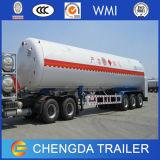 半中国Manufacxturer 3の車軸LPGガス燃料のタンカーのトレーラー