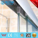 Material de alumínio com 8 mm de chuveiro em vidro temperado Box (BM-B8802)
