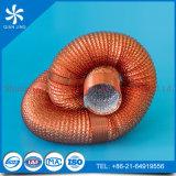 Condotto flessibile di alluminio di ramatura con resistente al fuoco