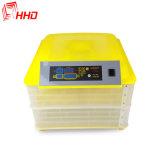 Mini incubateur d'oeufs de 96 oeufs avec la rotation automatique d'oeufs