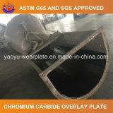 Piatto d'acciaio di alta usura resistente all'uso per il condotto di trasferimento