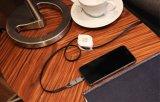 Cable 2017 del cargador del USB del regalo para el iPhone androide, 2 retractables en 1 venta caliente de carga del cable del USB