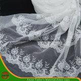 Высокое качество вышивка полиэфирная ткань (HSHY-1706)