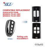 Multi marque Télécommande RF à code évolutif compatible Ditec Dea européenne Bft Faac Benince GBD
