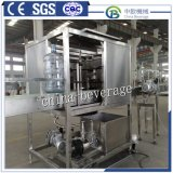 Planta automática de la máquina de rellenar del barril de 5 galones, máquina de rellenar del barril puro del agua mineral, empaquetadora del agua de botella
