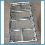 構築のための合板が付いている構築の鉄骨フレームの型枠
