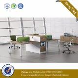 (UL-NM096) MDFのオフィス用家具4人のオフィスの区分の木ワークステーション