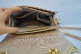 Madame goldtone Bag Crossbody Bag de qualité de texture de peau de crocodile avec le matériel de Duable
