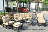 Swivel&Glide Schwätzchen-Gruppen-Gussaluminium-gesetzte Garten-Möbel