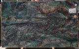 Ботанические зеленый Quartzite полированной плитки&слоев REST&место на кухонном столе