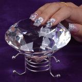 고품질 투명한 명확한 수정같은 수정같은 수정같은 다이아몬드