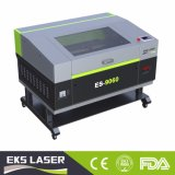 Machine de découpage à grande vitesse de laser de CO2 d'Eks et machine de gravure