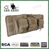 """38/42 """" di militare caccia lo zaino doppio del sacchetto di caso di trasporto del fucile da caccia della pistola del fucile"""