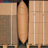 Auto-infláveis fácil controle 4 camadas de papel Kraft Cobros Air Bag para navio de caminhão de comboios de contentores
