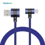 Tipo T de portátiles de la cabeza de metal para el tipo de cable de carga USB Jean C