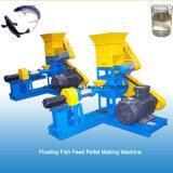 Los peces se alimentan de flotación automática de tipo húmedo Pellet Maker máquina extrusora