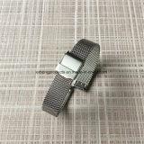 0.6 Band van het Horloge van het Netwerk van het Roestvrij staal met Versterkte Glijdende Greep