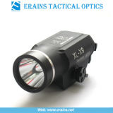 스트로브 권총에 의하여 거치되는 전술상 크리 사람 Q5 225 루멘 LED 플래쉬 등 및 토치 (ES-XL-X9)