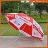 La publicité promotionnelle personnalisée de la Chine Patio extérieur Parasol
