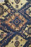 La tela grande del sofá de la tapicería del telar jacquar del azul de océano (FTH31558)