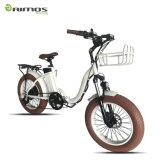 """Faltendes fetter Gummireifen-elektrisches Fahrrad des Cer-20 """""""