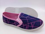 Hotsale Lienzo de inyección de la mujer Slip-on los zapatos de ocio Zapatos (FPY plana822-4)