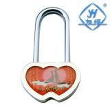 Lucchetto popolare delle coppie del cuore del doppio del lucchetto di amore (YH1037)
