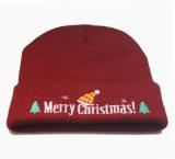 Beanie шлема вышивки зимы Xmas рождества Unisex связанный теплый (HW145)