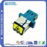 Adaptador de fibra óptica com Obturação por sorriso SC/PC, SC/APC