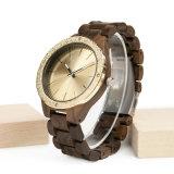 Reloj real simple del Mvmt de la mano de Minimalis de la prueba del agua de Elegan Vive de la muchacha