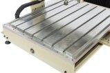 4軸線の木製のルーターCNC 6090木CNCの旋盤