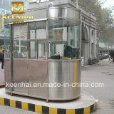 Chiosco prefabbricato portatile della cabina di obbligazione dell'acciaio inossidabile di Customed