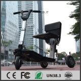Rotella del commercio all'ingrosso 3 del fornitore dell'OEM che piega il motorino elettrico di mobilità per i handicappati