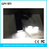 SolarStromnetz mit LED-Licht u. Sonnenkollektor u. Kabel USB-10 in-1