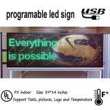 Los cuadros de interior del texto del soporte de la visualización de LED del RGB P5 ponen en cortocircuito los vídeos
