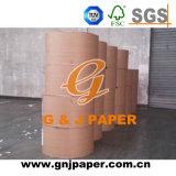 Papier d'art lustré de la pâte de bois de Vierge C2s avec la taille normale