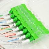 Divisor óptico del PLC de fibra de FTTH 1X16 con el conector de Sc/APC