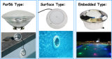 La PARITÀ all'ingrosso 56 IP68 impermeabilizza l'indicatore luminoso subacqueo della piscina del LED